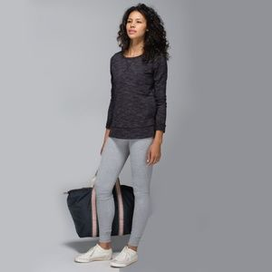 Lululemon Exhalation Pullover II Heathered Marled